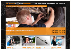 new website - glasgow power steering